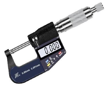 成量七键式电子数显外径千分尺0-100mm 执行标准:GB/T 20919-2007